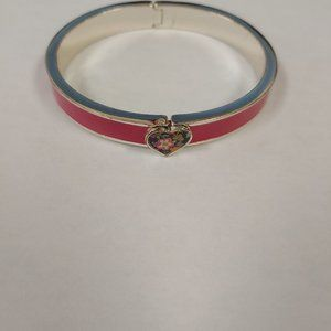 Vera Bradley Heart Bangle Bracelet